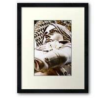 Glow in the d'Arc Framed Print
