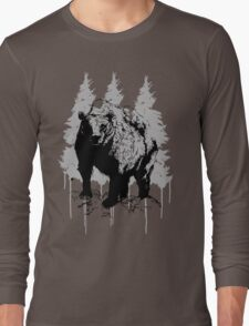Grizzly bear drawing T-Shirt