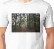 Forest Path in Vancouver's Temperate Rainforest Unisex T-Shirt
