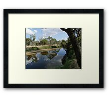 Along The Williams Framed Print