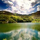 Gole del Sagittario, Lago di San Domenico (AQ), Italy by Fabio Catapane
