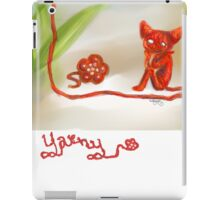 Yarny iPad Case/Skin