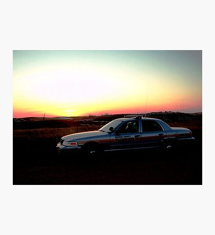 Patrol in God's Country Photographic Print