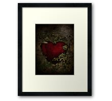 The Secret in the Wall Framed Print