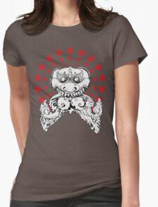 Angkor Wat Dragon Womens Fitted T-Shirt