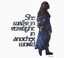 She walks in Starlight... Kids Clothes