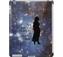 She walks in Starlight... iPad Case/Skin
