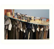Fragments of Richness: An Indian Expose - uniformity Art Print