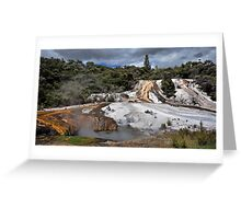 Orakei Karako, Geothermal wonderland Greeting Card