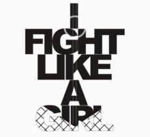 I Fight Like A Girl - BC Kids Clothes