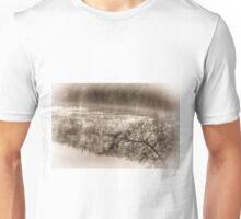 Misty River Morning 3 Unisex T-Shirt