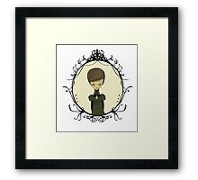 Graphic Novel illustration Framed Print