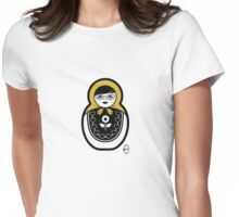 Russian Doll B Womens Fitted T-Shirt