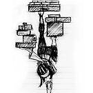 Precarious  by Lisadee Lisa Defazio