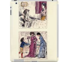 The Little Folks Painting book by George Weatherly and Kate Greenaway 0111 iPad Case/Skin