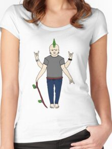 Vishnu Punx. Women's Fitted Scoop T-Shirt