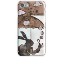 Mr. Rabbit learns from Wilhelm Reich iPhone Case/Skin