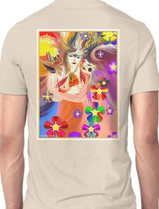 Spiritual Freedom and The Dance of Life Unisex T-Shirt