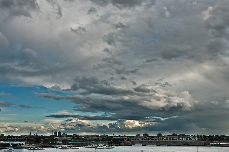 The Calm After The Storm - Melbourne Docklands by habek