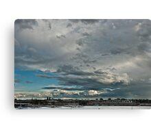 The Calm After The Storm - Melbourne Docklands Canvas Print
