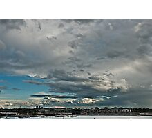 The Calm After The Storm - Melbourne Docklands Photographic Print