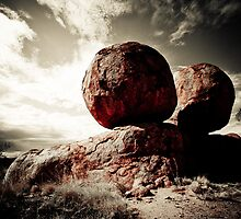 Devils Marbles by Bartt