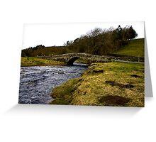 River Clover Bridge Greeting Card