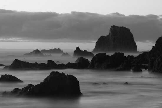 Glasshouse Rocks by Graham Schofield