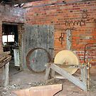 Relics from a Bygone Era (East Loddon station blacksmith shop) by Julie Sleeman