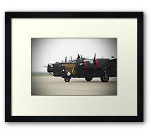 Witchcraft rolling in Framed Print