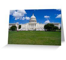 Washington DC Greeting Card