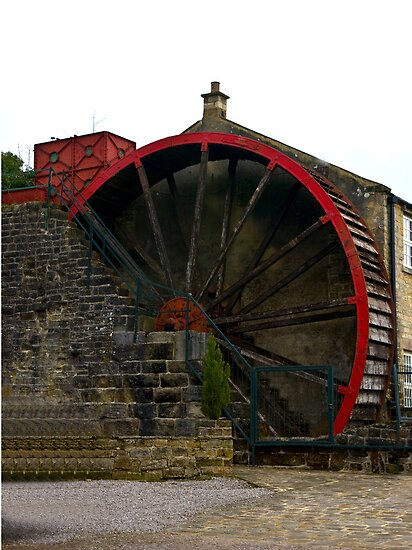 Water Wheel - Wath. by Trevor Kersley