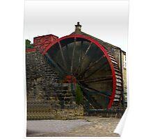 Water Wheel - Wath. Poster