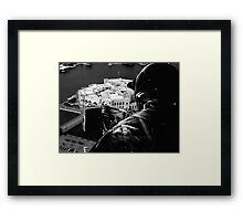 Fighter over Iraq Framed Print