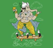 SKATE WITH GANESHA by Takila Shop