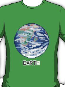 Pixel Planet - Earth T-Shirt