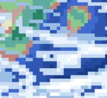 Pixel Planet - Earth Sticker