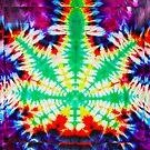 Retro TieDye 420 Style  by kushcoast
