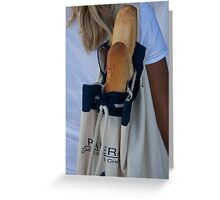 Baguettes Greeting Card