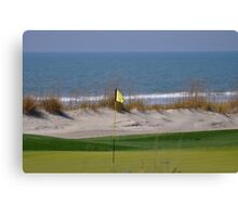 ocean golf Canvas Print