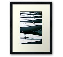 Dragon Class Keelboats Framed Print
