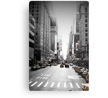 Manhattan Streetscape iii Metal Print