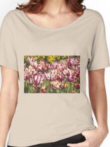 Tulips Galore Women's Relaxed Fit T-Shirt