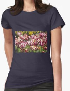 Tulips Galore Womens Fitted T-Shirt