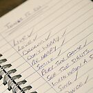 "The ""To Do"" List by SquarePeg"