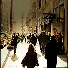 Sunny in SOHO by Melinda  Ison - Poor