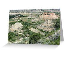 Badlands of North Dakota Greeting Card