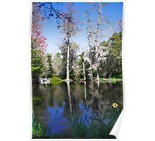 Magnolia Lake Poster