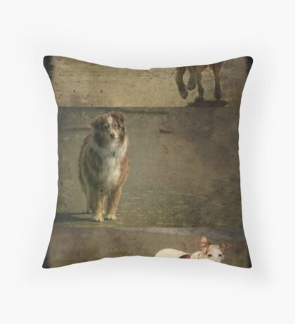 Pacific Pups Throw Pillow
