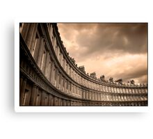 The Royal Crescent Bath Somerset Canvas Print